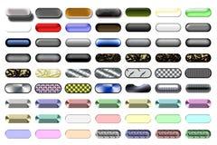 απεικόνιση 03 κουμπιών Στοκ Φωτογραφία