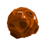 Απεικόνιση Asteroid Στοκ Εικόνες