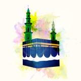 Απεικόνιση Kaaba, Mekkah Στοκ εικόνες με δικαίωμα ελεύθερης χρήσης