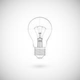 Απεικόνιση Lightbulb Στοκ φωτογραφία με δικαίωμα ελεύθερης χρήσης
