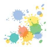 Απελευθερώσεις του χρώματος Στοκ εικόνα με δικαίωμα ελεύθερης χρήσης