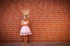 απελπισμένη πριγκήπισσα Στοκ Εικόνα