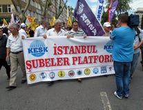 απεργία Τουρκία Στοκ Εικόνα