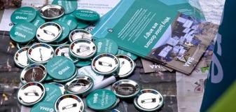 Απεργία των τρίτων κατώτερων γιατρών Στοκ εικόνες με δικαίωμα ελεύθερης χρήσης