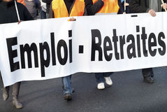 απεργία στοκ εικόνες
