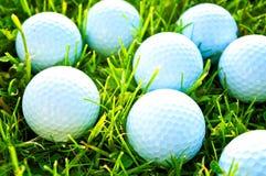 απεργίες παικτών γκολφ παιχνιδιών σφαιρών Στοκ Φωτογραφίες