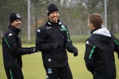 Απεργός και FC Krasnodar Fedor Smolov της Ρωσίας στην ανοικτή περίοδο άσκησης στοκ εικόνα με δικαίωμα ελεύθερης χρήσης