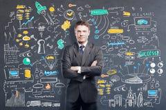 απεργός στρατηγικής εκμετάλλευσης χεριών έννοιας επιχειρησιακών επιχειρηματιών μπέιζ-μπώλ Στοκ φωτογραφίες με δικαίωμα ελεύθερης χρήσης