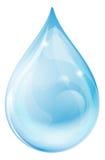 Απελευθέρωση νερού διανυσματική απεικόνιση
