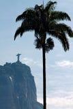 Απελευθερωτής Χριστού γλυπτών στο Ρίο Στοκ φωτογραφίες με δικαίωμα ελεύθερης χρήσης