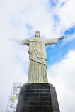 Απελευθερωτής Χριστού, Ρίο ντε Τζανέιρο, Βραζιλία Στοκ εικόνες με δικαίωμα ελεύθερης χρήσης