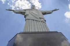 Απελευθερωτής Χριστού στο Ρίο ντε Τζανέιρο Στοκ Εικόνα