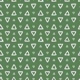 Απλά άνευ ραφής αφηρημένα τρίγωνα σχεδίων Στοκ Εικόνες