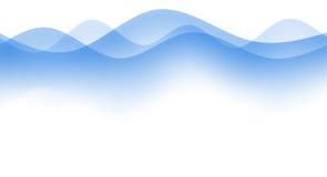 απλά κύματα Στοκ φωτογραφίες με δικαίωμα ελεύθερης χρήσης