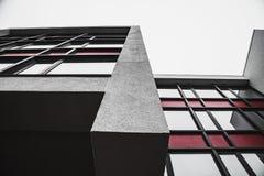 Απλές αφηρημένες μορφές minimalistic κτηρίου Στοκ εικόνα με δικαίωμα ελεύθερης χρήσης