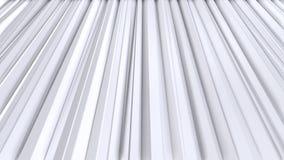 Απλές χαμηλές πολυ τρισδιάστατες κουρτίνες ως περιβάλλον πολυτέλειας Μαλακό γεωμετρικό χαμηλό πολυ υπόβαθρο των καθαρών άσπρων γκ ελεύθερη απεικόνιση δικαιώματος