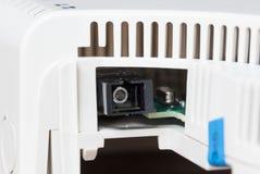 Απλή εγχώρια συσκευή για την οπτική ίνα Στοκ Φωτογραφία