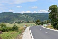 Απλή εικόνα ενός δρόμου στοκ εικόνα