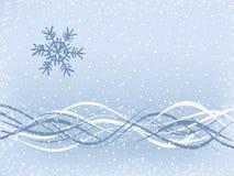 απλός χειμώνας ανασκόπηση&s διανυσματική απεικόνιση