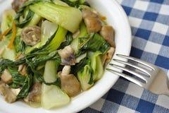 απλό λαχανικό πιάτων Στοκ Εικόνες