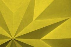 Απλό μονοχρωματικό αφηρημένο υπόβαθρο από το origami στοκ φωτογραφία με δικαίωμα ελεύθερης χρήσης