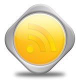 απλό syndication κουμπιών rss Ελεύθερη απεικόνιση δικαιώματος