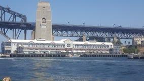 Αποβάθρα ένα που τοποθετείται στο λιμάνι του Σίδνεϊ, Σίδνεϊ, NSW, Αυστραλία στοκ εικόνες