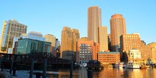 Αποβάθρα ανεμιστήρων της Βοστώνης Στοκ εικόνα με δικαίωμα ελεύθερης χρήσης