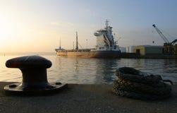 αποβάθρα αυγής 3 Στοκ φωτογραφία με δικαίωμα ελεύθερης χρήσης