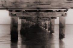 Αποβάθρα βαρκών Στοκ Φωτογραφίες
