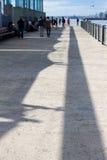 Αποβάθρα 6 γεφυρών του Μπρούκλιν Στοκ Φωτογραφία