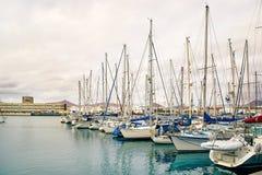 Αποβάθρα γιοτ Arrecife Στοκ Φωτογραφίες