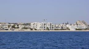 Αποβάθρα θάλασσας στην Τυνησία Λιμένας EL Kantaoui Στοκ φωτογραφίες με δικαίωμα ελεύθερης χρήσης