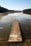 Αποβάθρα 02 λιμνών Στοκ φωτογραφία με δικαίωμα ελεύθερης χρήσης