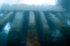 αποβάθρα κάτω από Στοκ Εικόνες