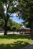 Αποβάθρα και πάρκο Gorska Krynica Στοκ Φωτογραφίες