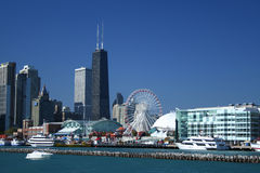 αποβάθρα ναυτικών του Σικάγου Στοκ φωτογραφία με δικαίωμα ελεύθερης χρήσης