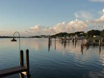 Αποβάθρα νησιών Captiva στοκ φωτογραφίες