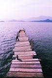 αποβάθρα ξύλινη Στοκ Εικόνα