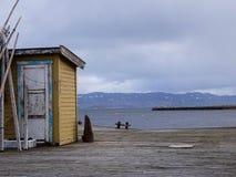 αποβάθρα παλαιά Στοκ Εικόνα