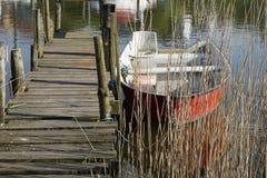 αποβάθρα παλαιά Στοκ φωτογραφίες με δικαίωμα ελεύθερης χρήσης