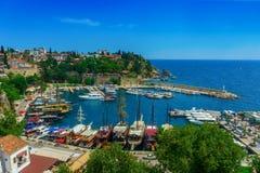 Αποβάθρα σε Antalya Στοκ εικόνες με δικαίωμα ελεύθερης χρήσης