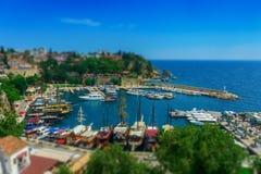 Αποβάθρα σε Antalya Στοκ Φωτογραφίες