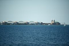 Αποβάθρα Σικάγο ναυτικού Στοκ Φωτογραφίες
