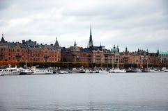 Αποβάθρα στη Στοκχόλμη, Σουηδία Στοκ φωτογραφίες με δικαίωμα ελεύθερης χρήσης