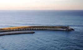 Αποβάθρα στον ωκεανό στοκ φωτογραφία