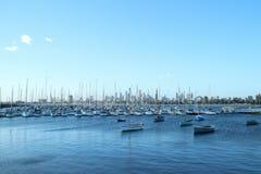 Αποβάθρα της Αυστραλίας Μελβούρνη ST Kilda Στοκ Φωτογραφία