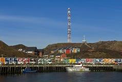 Αποβάθρα των ψαράδων Helgoland Στοκ εικόνες με δικαίωμα ελεύθερης χρήσης