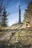 Αποβάθρα ψαμμίτη στην κατακόρυφο Calvary Στοκ φωτογραφία με δικαίωμα ελεύθερης χρήσης