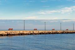 αποβάθρα Στοκ εικόνα με δικαίωμα ελεύθερης χρήσης